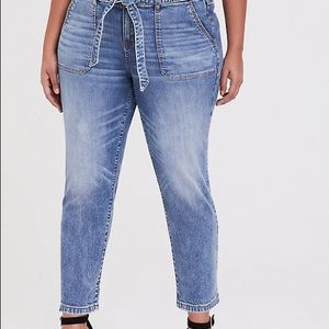 Mid Rise Straight Vintage Stretch Jean